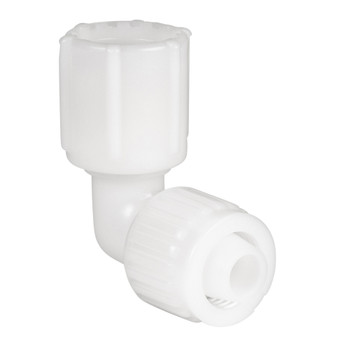 Flair It Elbow Barb-Swivel Fitting