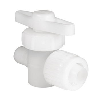 Flair It Barb-Male 2 Way Stop Valve Fitting