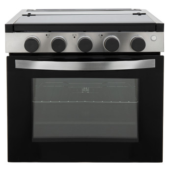 "RV Stove Gas Range 21"" with Optional Range Vent Hood"