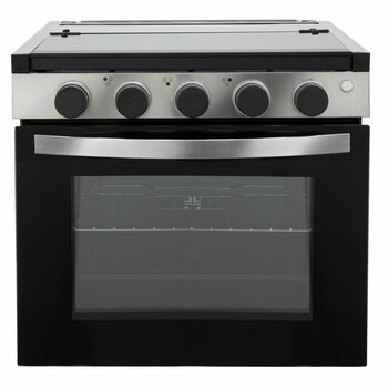 "RV Stove Gas Range 21"" Tall with Optional Range Vent Hood"