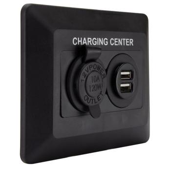 RV Cigarette USB Charging Center