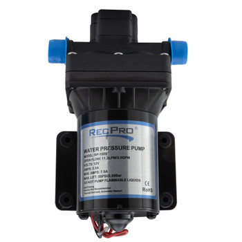 RecPro 12V Electric 4 Chamber Water Pump