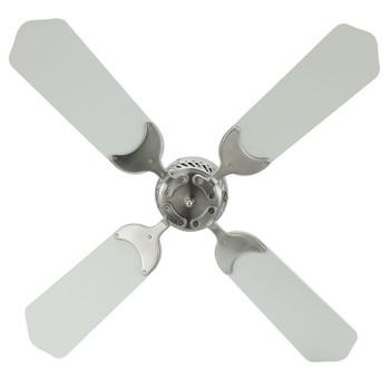 "RV Ceiling Fan 12V 36"" Brushed Nickel Finish"