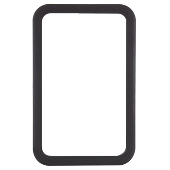 RV Entry Door Window Only (No Glass) Black