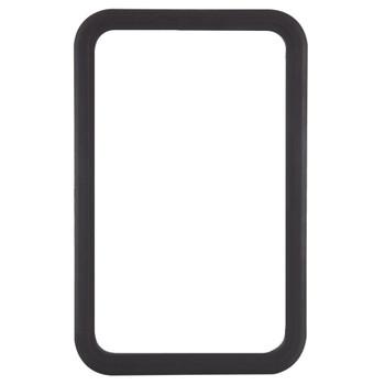 RV Entry Door Window Only (No Glass) Black