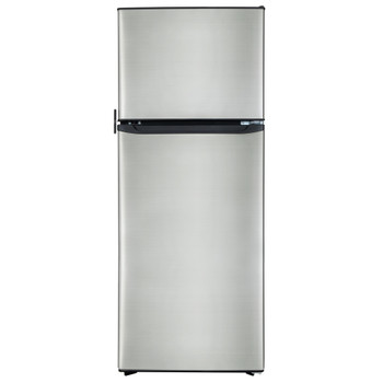 RV Refrigerator 10.7 Cubic Feet 12V Stainless Steel