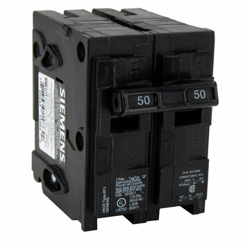 RV Circuit Breaker 50 Amp Siemens Q250
