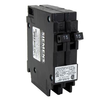 RV Circuit Breaker 15 Amp Double Breaker Siemens Q1515