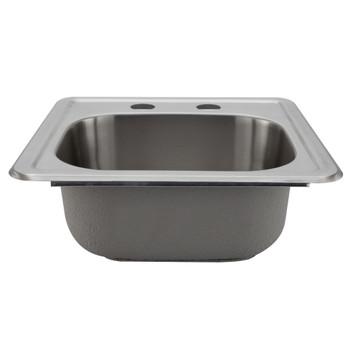 """RV Veggie Sink 15"""" x 15"""" Top Mount"""