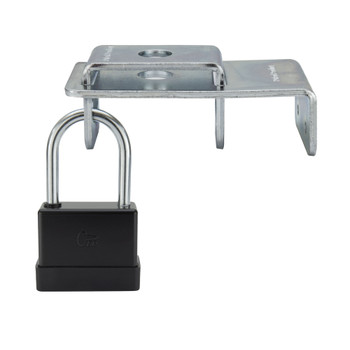RV LP Tank Lock and Pad Lock