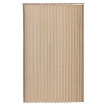 "RV Pleated Folding Door 36"" x 75"" Tan"