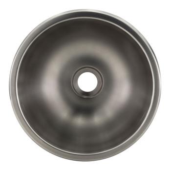 """RV 13"""" Round Stainless Steel Sink"""