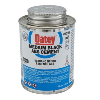 Medium Black ABS Cement 8 fl. oz.