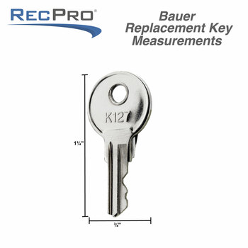 RV Keys Bauer Replacement K127