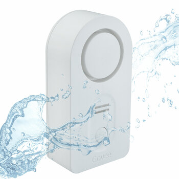 Wireless Water Leak Detector with Alarm
