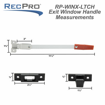 RV Exit Window Egress Latch Replacement