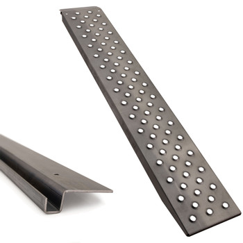 "72"" x 12"" Heavy Duty 10ga Steel Trailer Loading Ramps with Mounting Bracket"