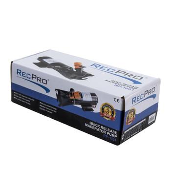 RecPro RV 12V Macerator Pump - Quick Release