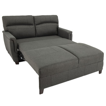"""RecPro Charles 62"""" Easy-Out Trifold Loveseat Sleeper"""