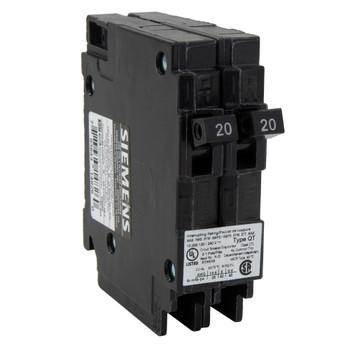 RV Circuit Breaker 20 Amp Double Breaker Siemens Q2020