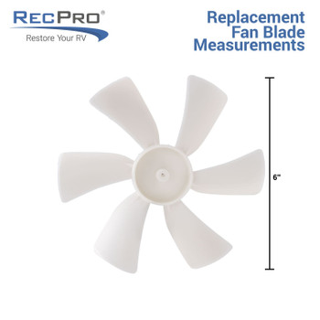 Replacement Vent Motor &  Fan Blade Combo