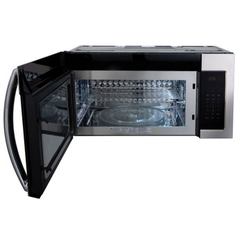 """RV Microwave Over the Range 30"""" Stainless Steel"""