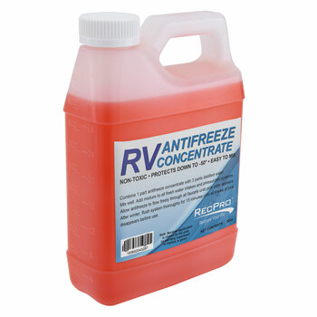 RV Antifreeze Concentrate 1:3 Ratio Makes 1 Gallon