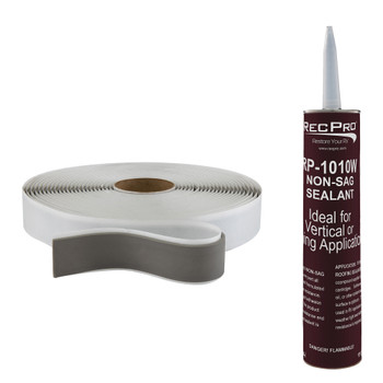 RV Window Sealant Kit Includes 30' Butyl Tape