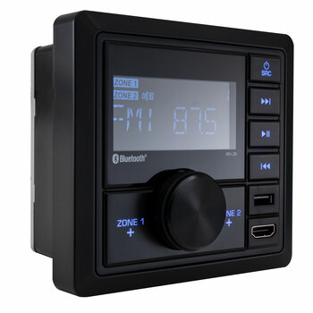 RV Mechless Stereo Unit AM/FM Radio/Bluetooth with Remote