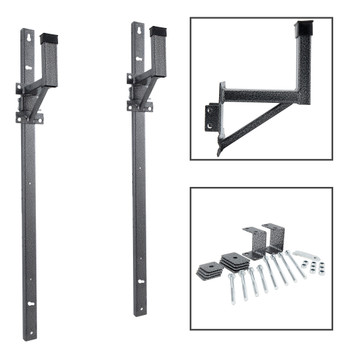Enclosed Trailer Ladder Rack Adjustable Side Mount