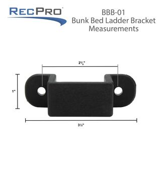 RV Bunk Bed Ladder Brackets