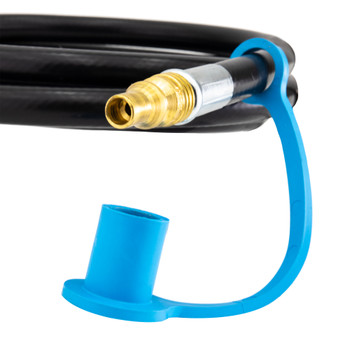 "RV Propane Gas Dual Quick Connect LP Hose 1/4"" ID"