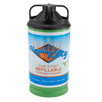 RV 1lb Refillable Propane Gas Tank
