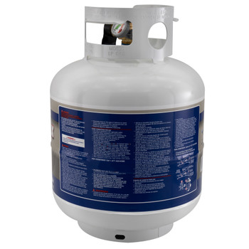 RV 20lb Propane Gas Tank Optional Mounting Kit