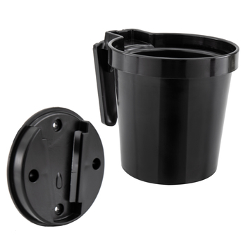 Ice Fishing Cup Holder with Quick Wall Mount