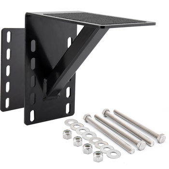 RV Frame Mounted Single Step for Bumper and Trailer