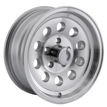 RV S20 Aluminum Wheel for Trailers and Towables - Silver Finish