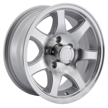RV 7-Spoke Aluminum Wheel for Trailers and Towables