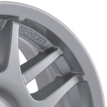RV Aluminum Wheel for Trailers and Towables - Black or Stainless T15