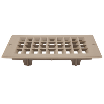 "RV Floor Register 4"" x 8"" Undampered Vent"