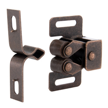RV Cabinet and Drawer Latch Rubbed Bronze