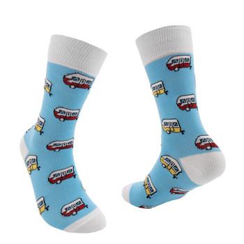 RecPro Aqua Retro Trailer Unisex Socks