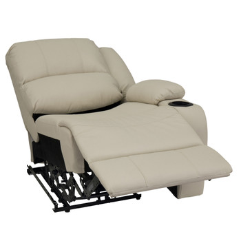 "RecPro Charles 29"" Powered Right Arm Recliner Modular RV Furniture Reclining Luxury Lounger in Ultrafabrics® Brisa®"