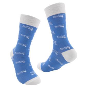 RecPro Unisex Blue Logo Socks