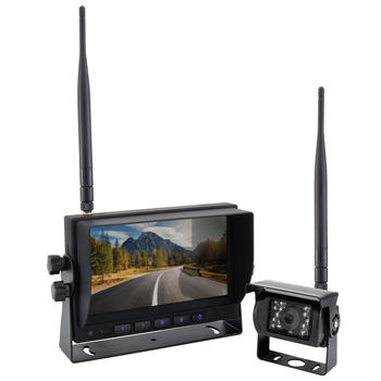 "RV Wireless Backup Camera System with 7"" Monitor"