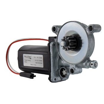 RecPro RV Awning Motor Fits Post-2015 Models Block Connector Type