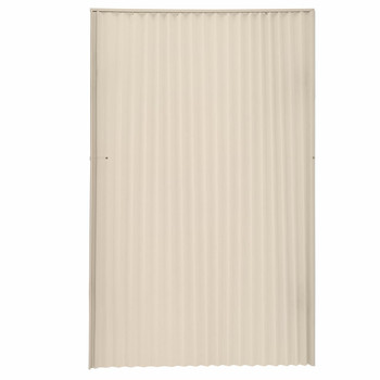 """RV Pleated Folding Door 24"""" x 75"""" Beige"""