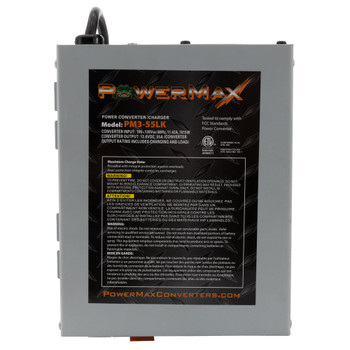 RV Converter 55A, 120V AC to 12V DC