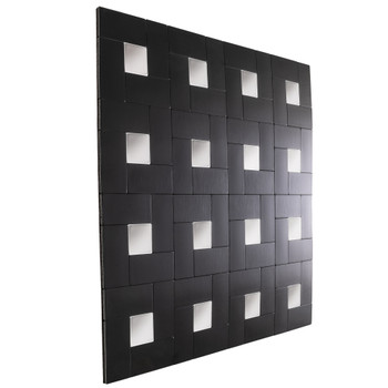 "RV Backsplash Onyx Block Tile 12"" x 12"" Peel and Stick"