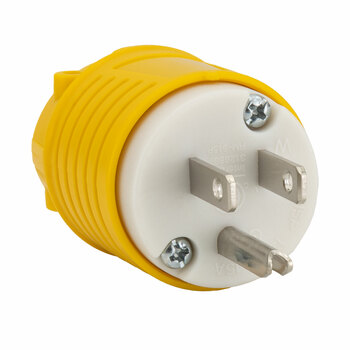 RecPro 15 Amp RV Plug Replacement Male